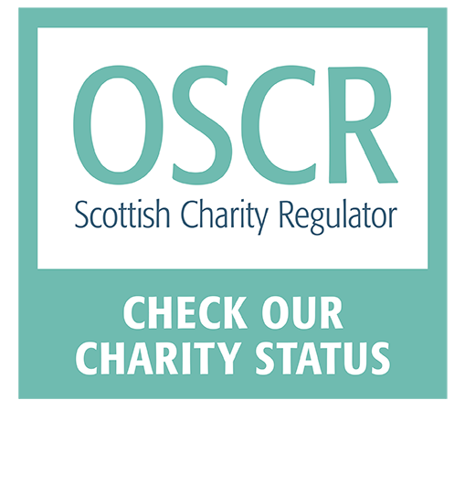 Check our charity status at www.oscr.org.uk.